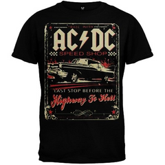 AC/DC – Speed Shop T-Shirt (Men)