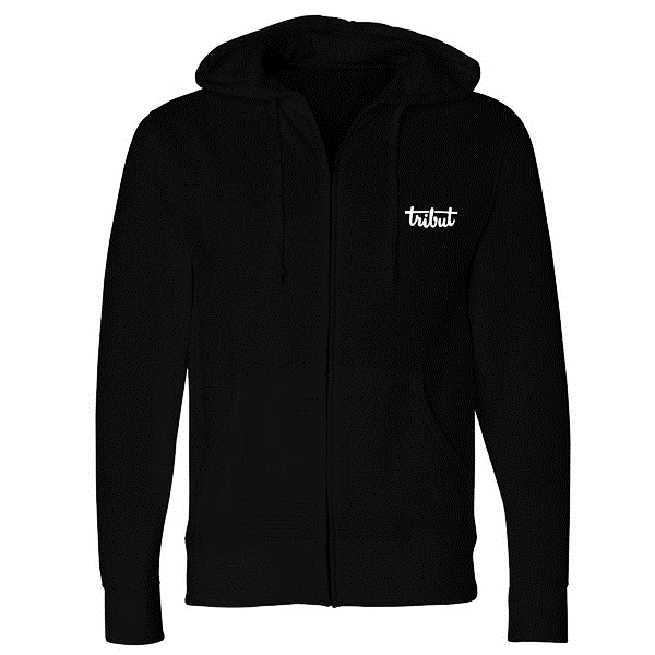 Tribut - Slowhand Zip-Up Hoodie (Unisex)
