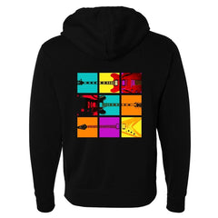 Tribut - Blues Art Zip-Up Hoodie (Unisex)