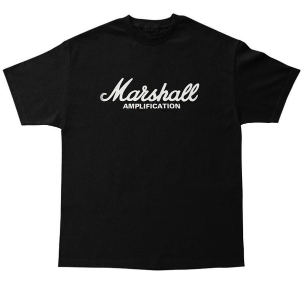Marshall Amplification – Script Logo Standard T-shirt (Unisex)