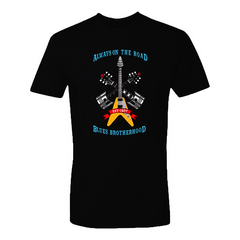 Always on the Road T-Shirt (Unisex) - Black