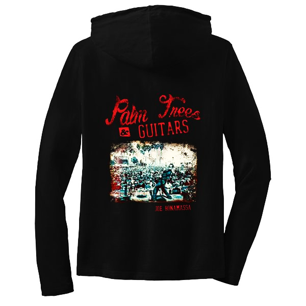 Palm Trees & Guitars Hooded Long Sleeve (Women)