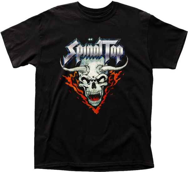 Spinal Tap - Horned Skull T-Shirt (Men)