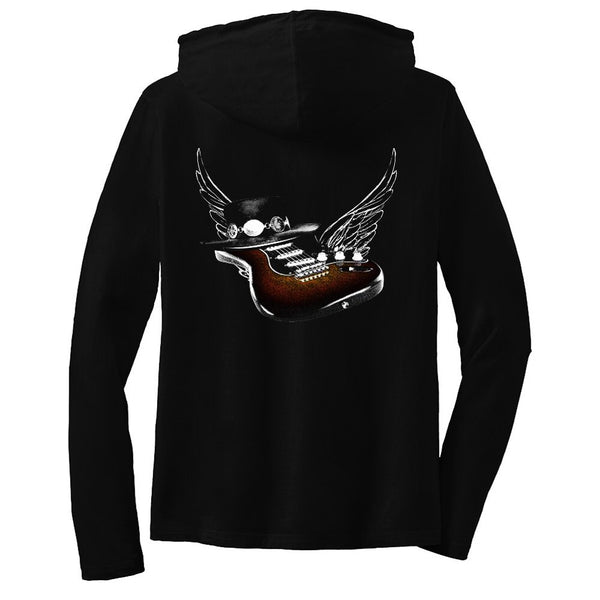Tribut - Guitar Heaven Hooded Long Sleeve (Women)
