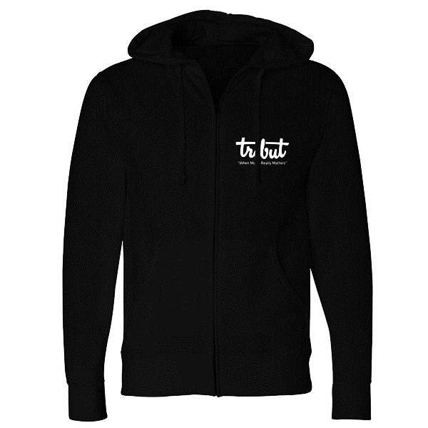 Tribut - Yellow Acoustic Sunset Zip-Up Hoodie (Unisex)