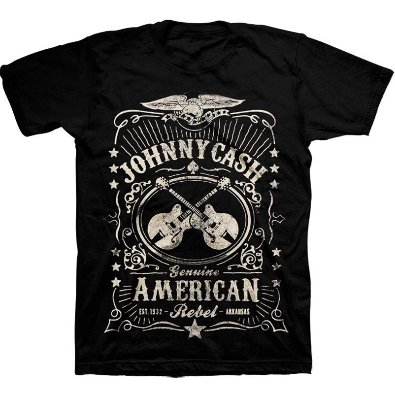 Johnny Cash - Cash Label T-Shirt (Men)
