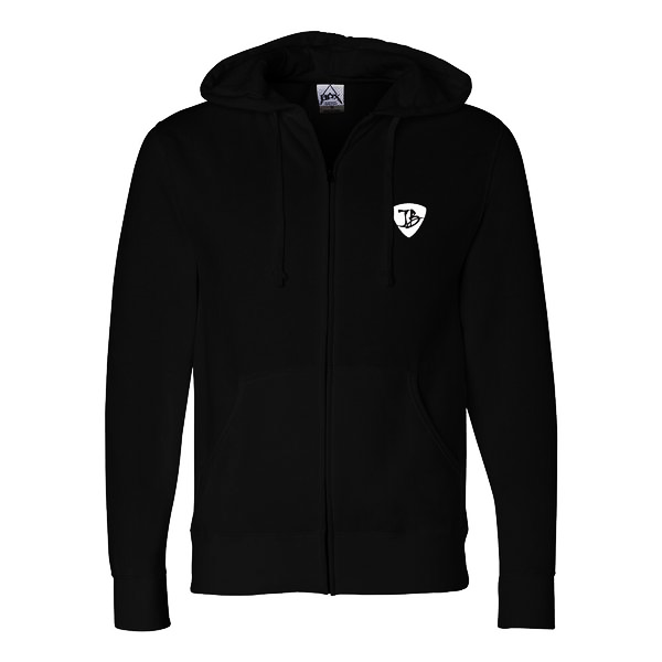 JB Arise Zip-Up Hoodie (Unisex) - Black