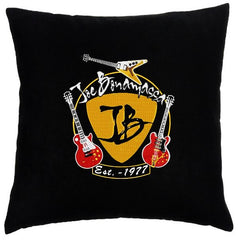 Guitar Trifecta - Faux Suede Pillow