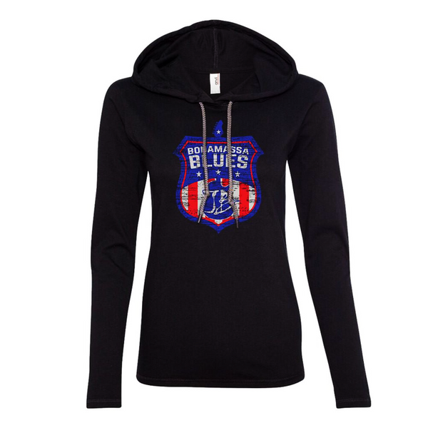 Bonamassa Blues Hooded Long Sleeve (Women)