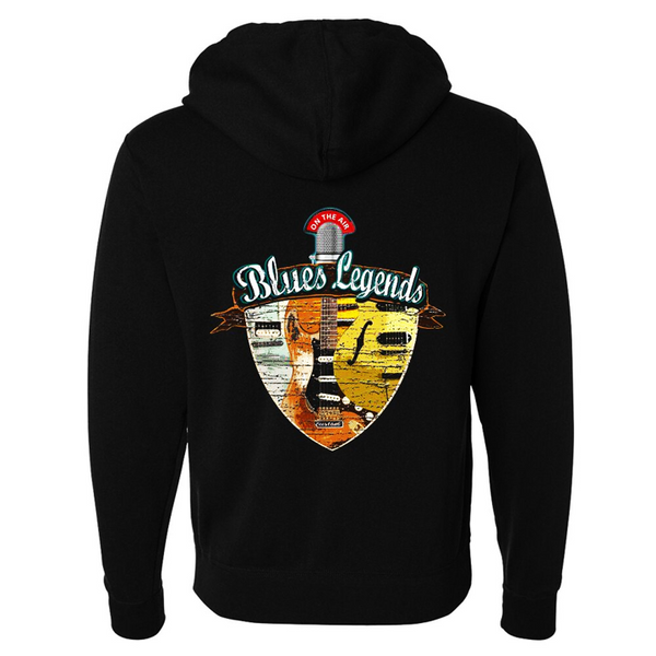 Tribut - Blues Legends Zip-Up Hoodie (Unisex)