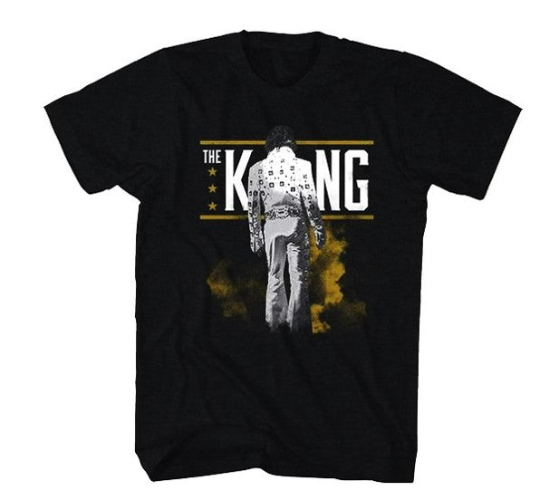 Elvis Presley - The King from Behind T-Shirt (Men)