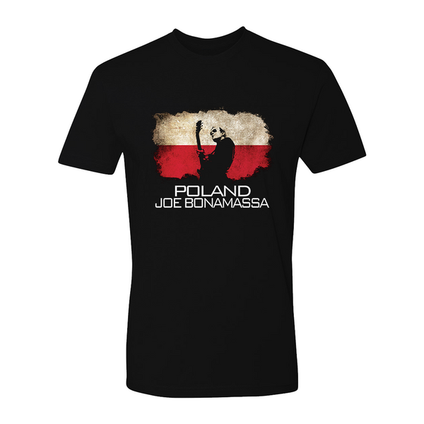 Joe Bonamassa World Shirt: Poland