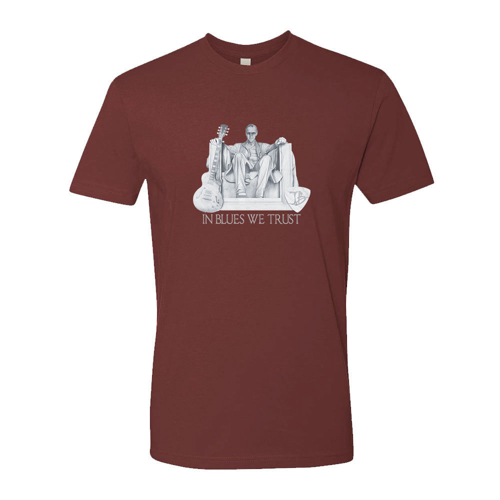 Presidential Blues T-Shirt (Unisex) - Maroon
