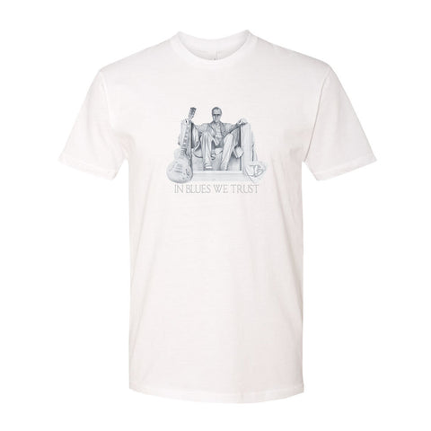 Presidential Blues T-Shirt (Unisex) - White