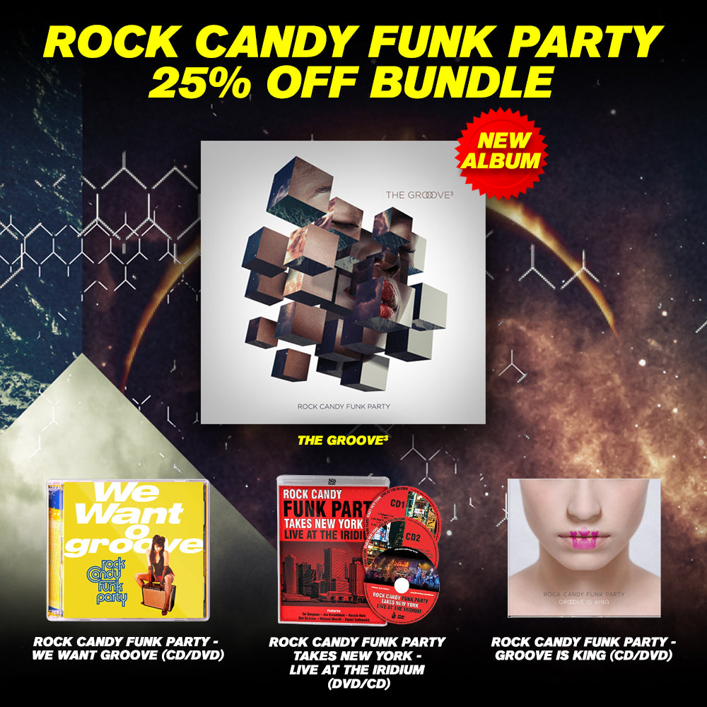 Rock Candy Funk Party Full Catalog Collection Package (4 - CD/DVD Set)