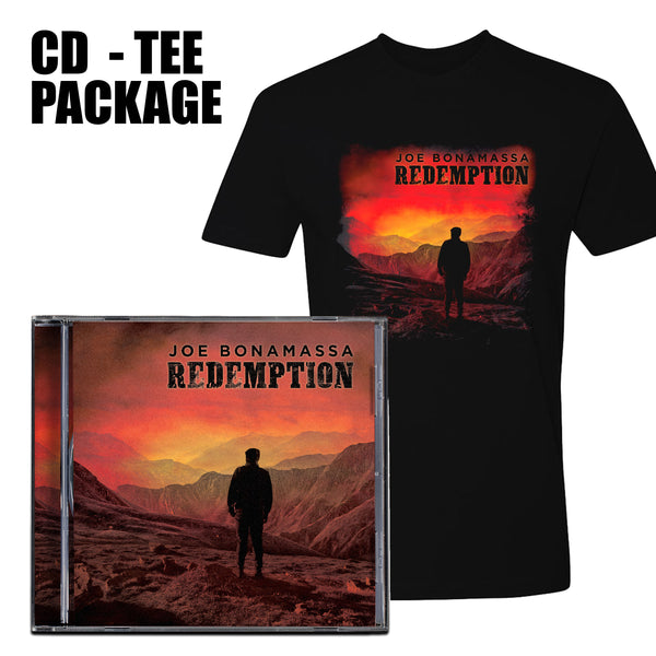 Redemption CD & T-Shirt Package ***PRE-ORDER***