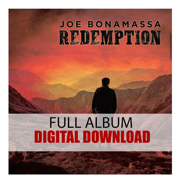Joe Bonamassa: Redemption (Digital Album) (Released: 2018) ***PRE-ORDER***