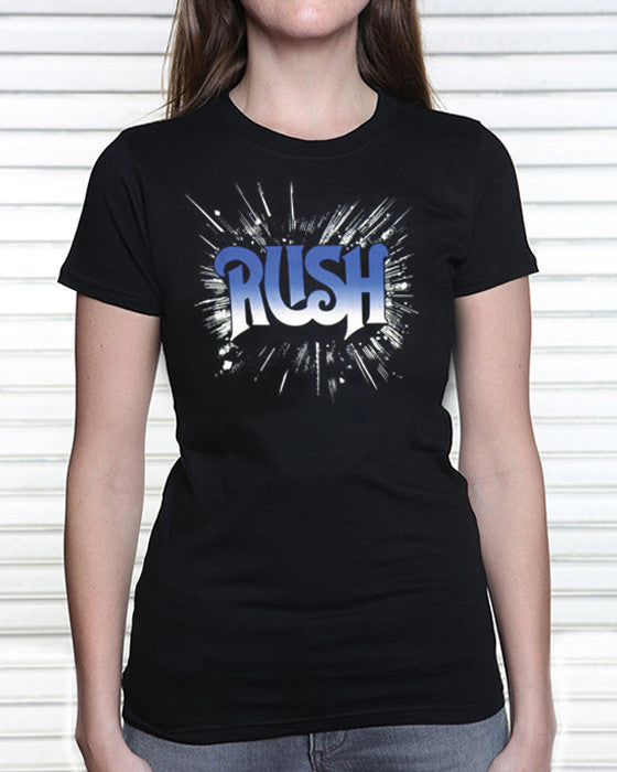 Rush - First Album  (Women, Blue Logo)