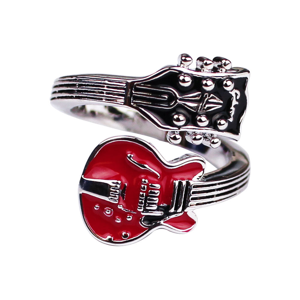 Bona-Fide Red ES Guitar Ring