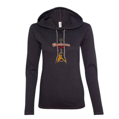Red Lady Hooded Long Sleeve (Women)