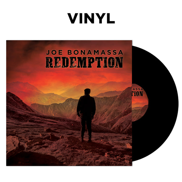 Joe Bonamassa: Redemption (Double Vinyl Set) (Released: 2018) ***PRE-ORDER***