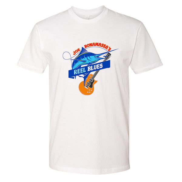 Reel Blues T-Shirt (Unisex) - White