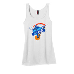 Reel Blues Tank (Women) - White