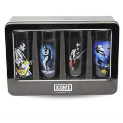 Bona- Litho Shot Glasses - 4 Piece Set