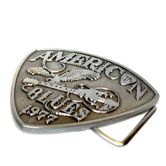 American Blues Pick Belt Buckle