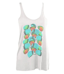 SUNNIES - A-LINE TANK (WHITE)
