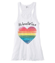 Love Wins - Racerback (White)