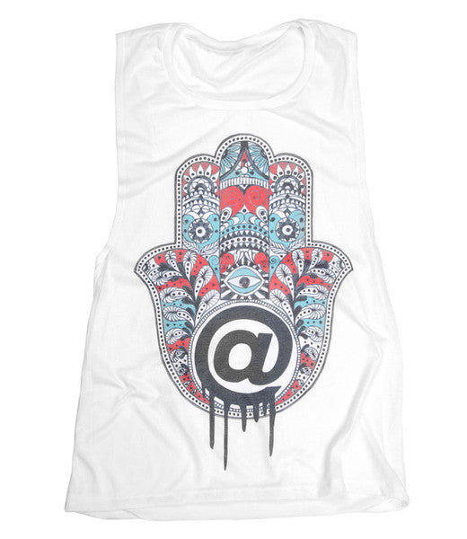 @Hamsa - Scoop Muscle - (White)