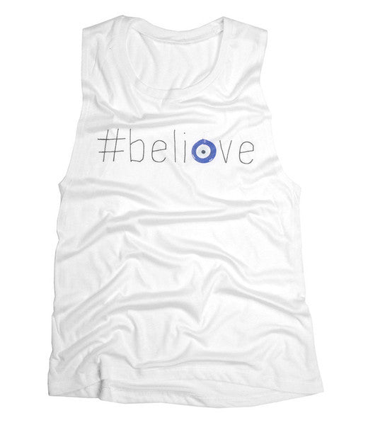 #believe - Scoop Muscle (White)