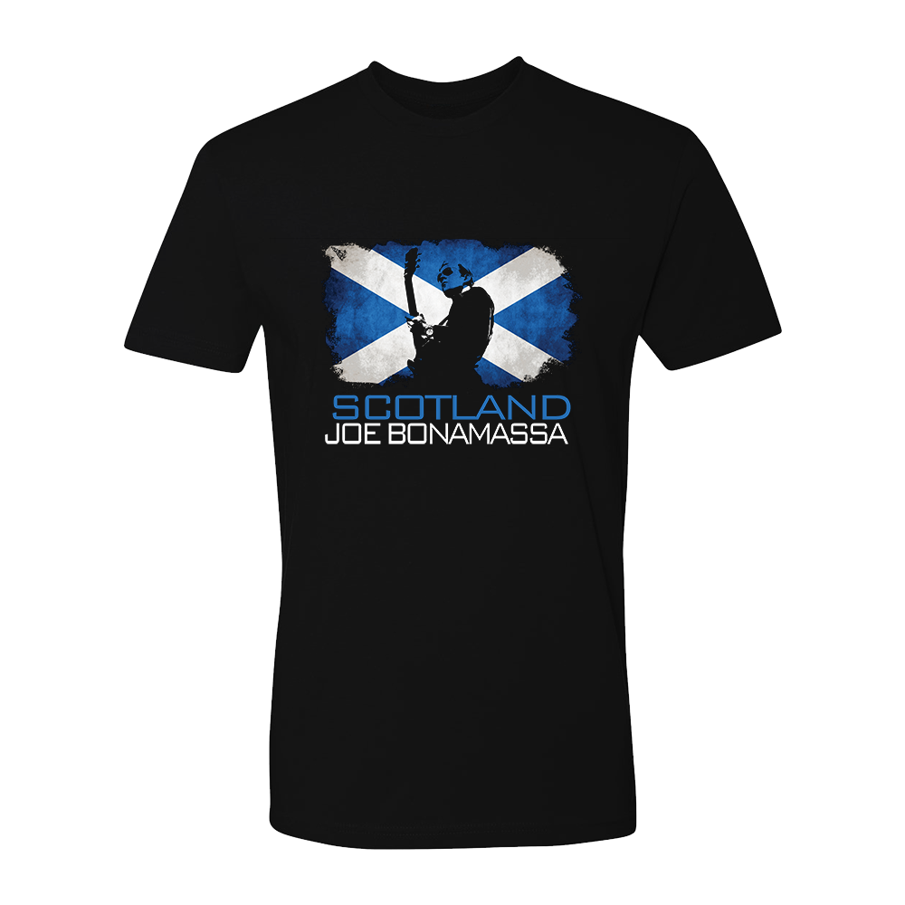 Joe Bonamassa World Shirt: Scotland