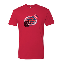 Vote for the Blues T-shirt (Unisex) - Red