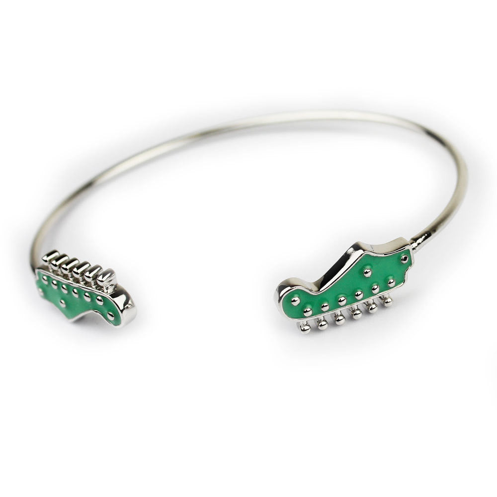 Sea Foam Green Fender Jazzmaster Guitar Bracelet