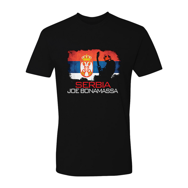 Joe Bonamassa World Shirt: Serbia