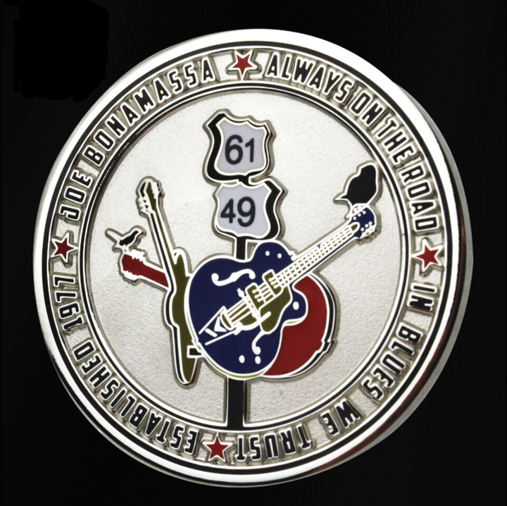 The Crossroads Challenge Coin - Silver