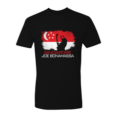 Joe Bonamassa World Shirt: Singapore