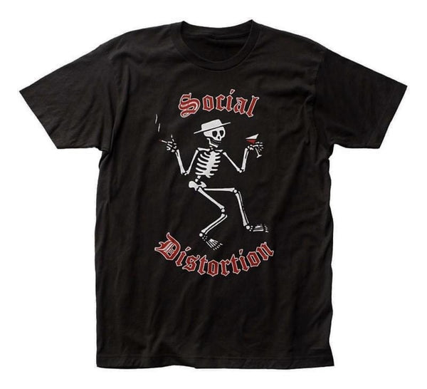 Social Distortion - Skelly Logo T-Shirt (Men)