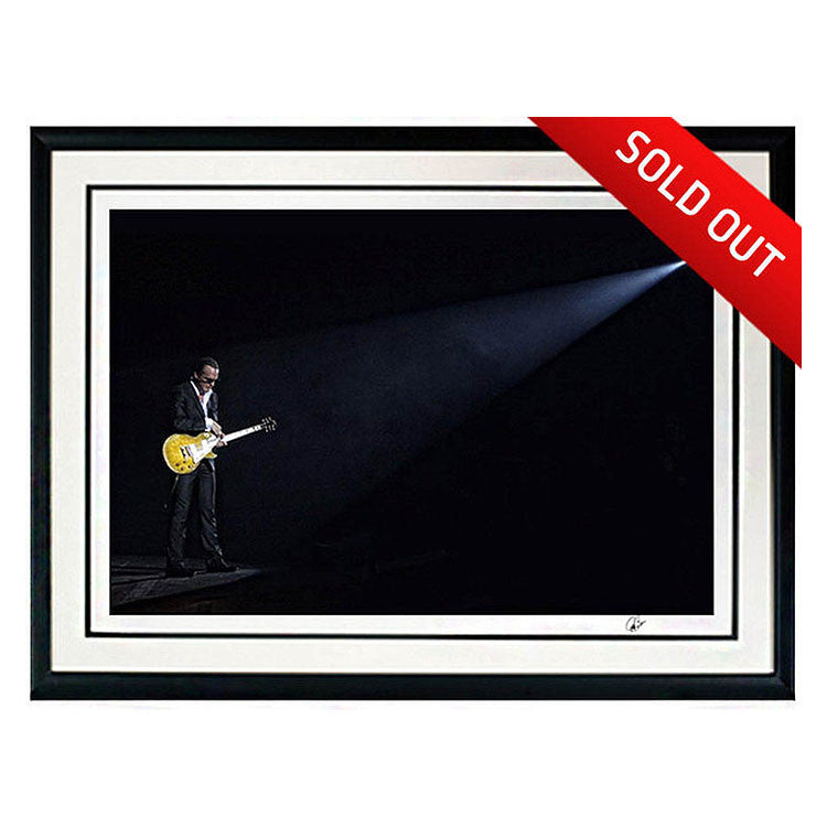 "#6 ""Soliloquy"" JOE BONAMASSA Collectible Litho (FRAMED - USA ONLY)"