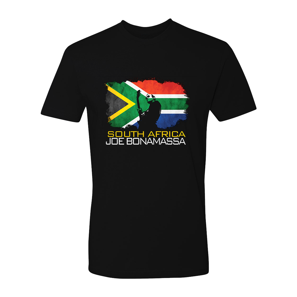 Joe Bonamassa World Shirt: South Africa