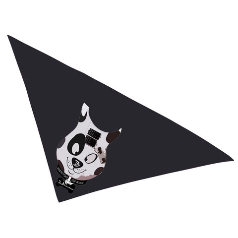 Blues Scout Bandana - Black