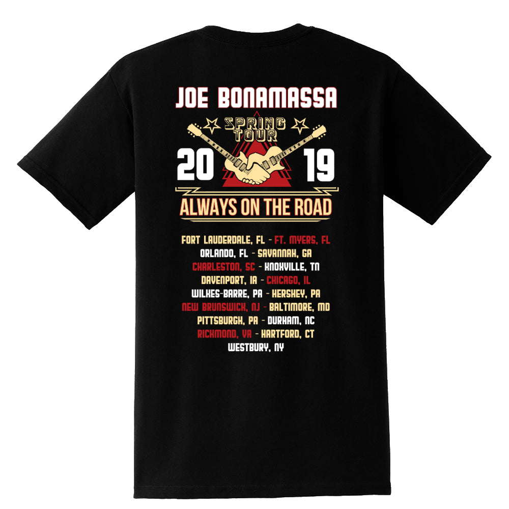 2019 U.S. Spring Tour Pocket T-Shirt (Unisex)