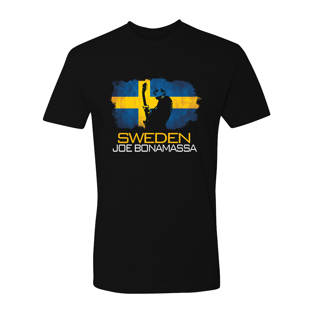 Joe Bonamassa World Shirt: Sweden