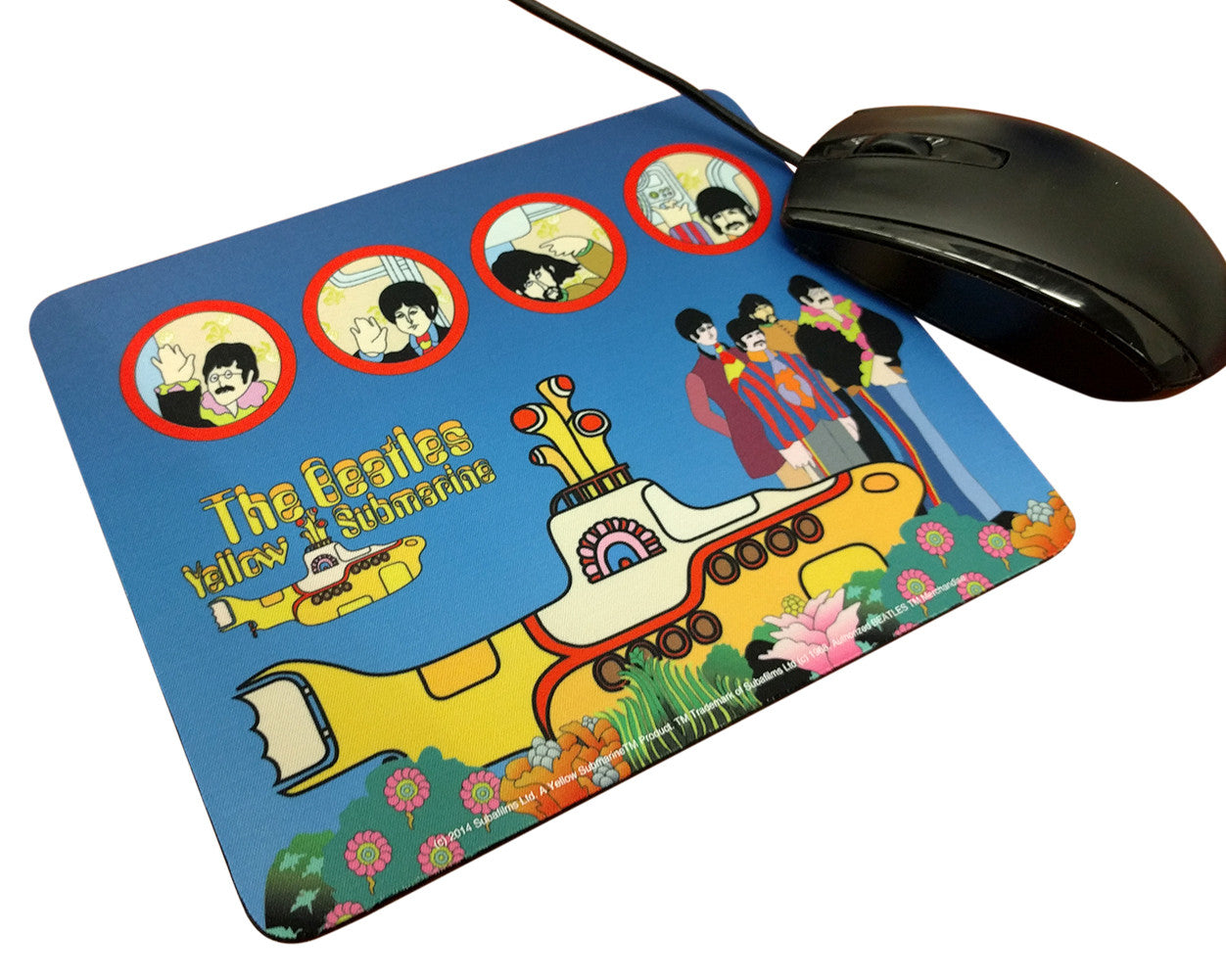 The Beatles - Yellow Submarine Mouse Pad
