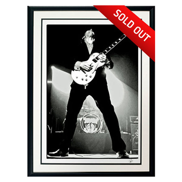 "#5 ""Titan"" JOE BONAMASSA Collectible Litho (FRAMED - USA ONLY)"