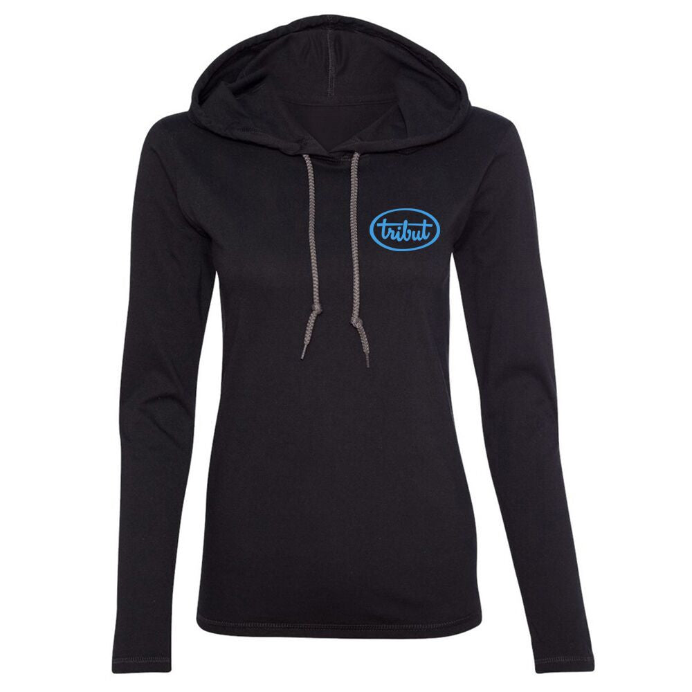 Tribut - Blues on the Rocks Hooded Long Sleeve (Women)