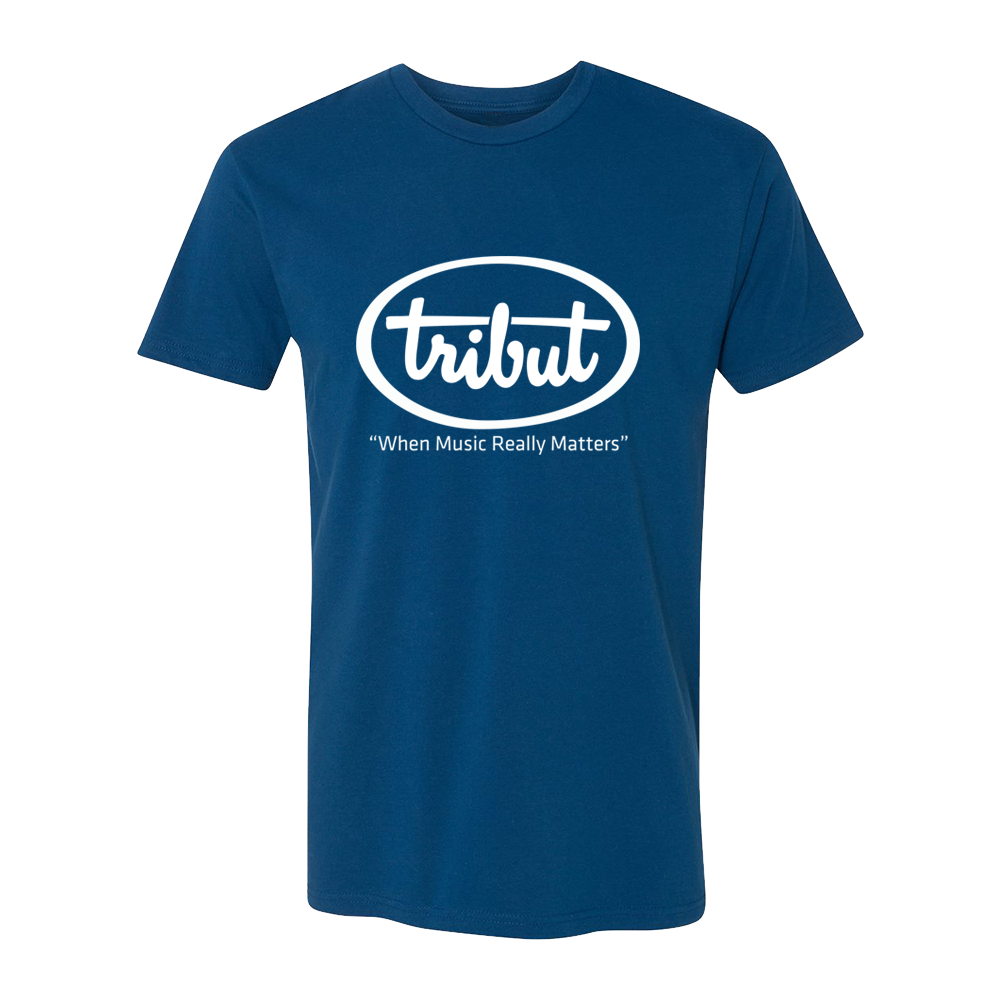 Tribut - Logo T-Shirt (Unisex) - Cool Blue