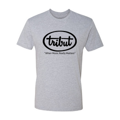 Tribut - Logo T-Shirt (Unisex) - Heather Grey